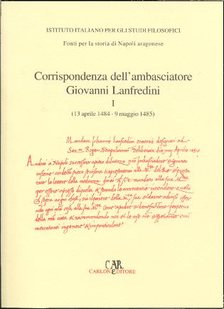 Copertina Corrispondenze I